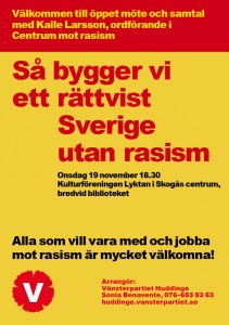 Anti-rasistmöte nov 2014
